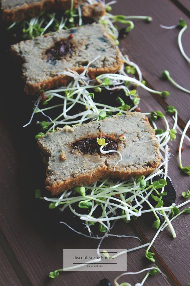 pasztet z gotowanej na parze soczewicy i kaszy jaglanej