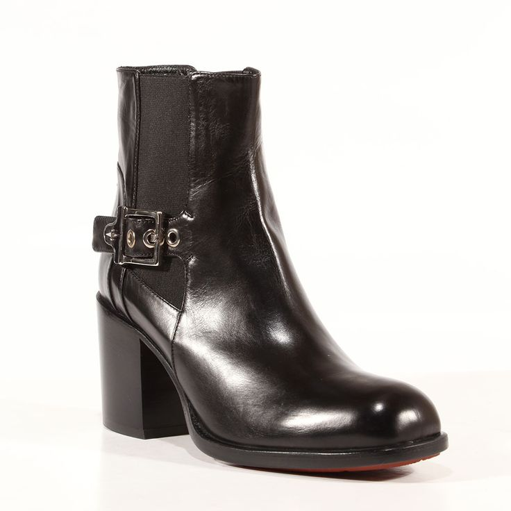 Cesare Paciotti Womens Shoes Baby Lux Black Leather Boots (CPW3023) Material: Leather Hardware: Silver Color: Black    Comes with original box and dustbag. Made in Italy. PI639370-BLACK