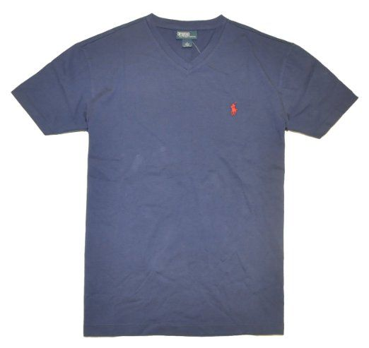 Polo ralph lauren men v neck pony logo t shirt for Amazon logo polo shirts