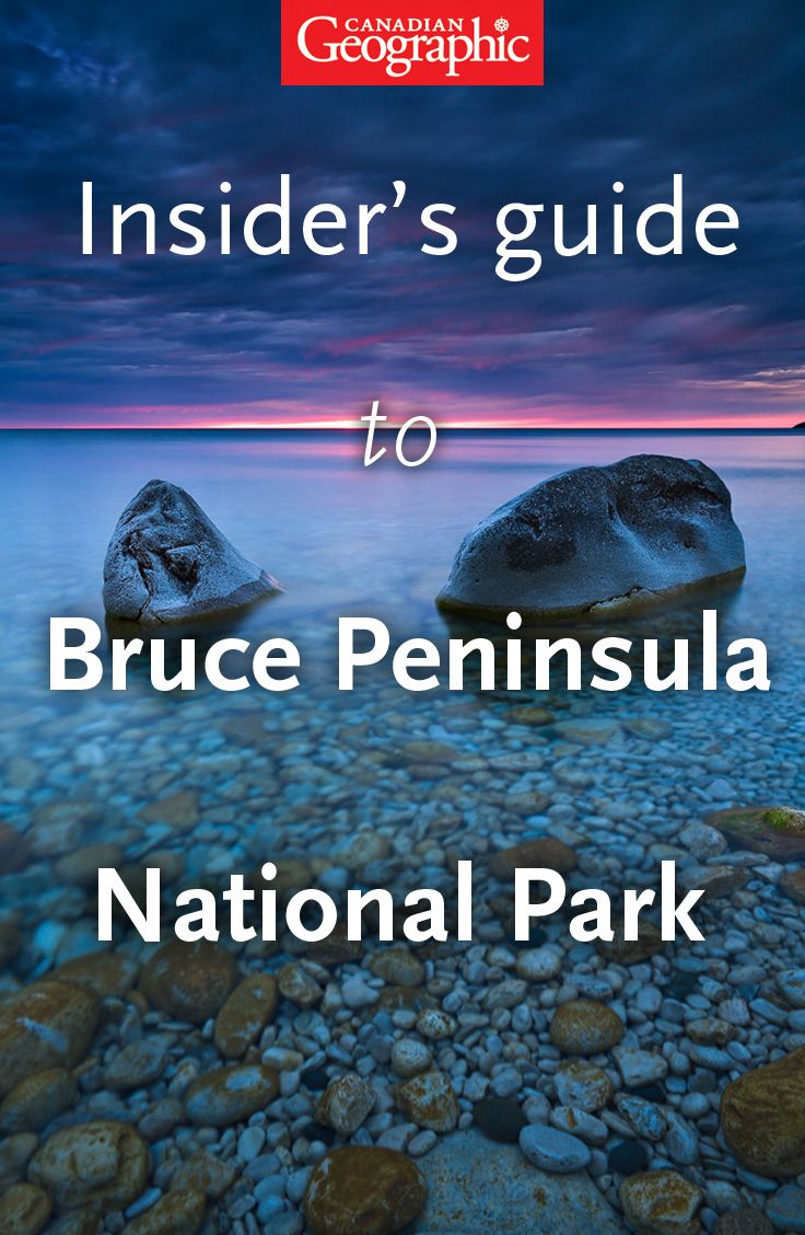 Canadian Geographic's insider's guide to bouldering in Bruce Peninsula National Park. #travel #adventure