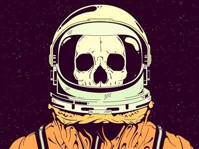120 best skeleton/astronaut images on Pinterest | Art ...