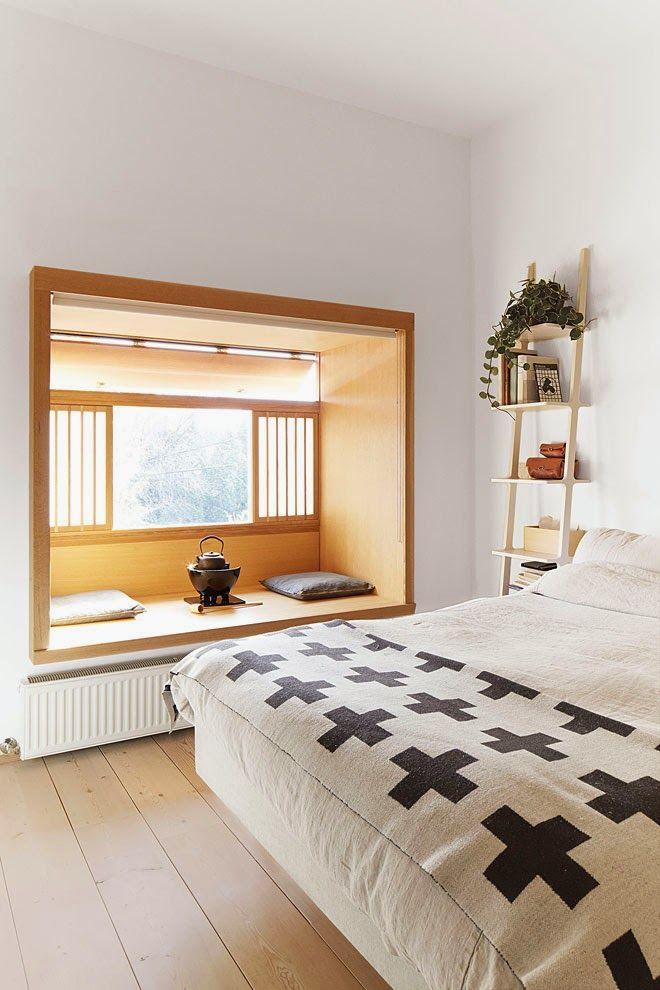 Japanese & Scandinavian Design | my scandinavian home: A very cool Toronto apartment