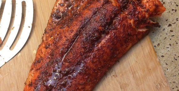 make the simplest and best tasting salmon ever!