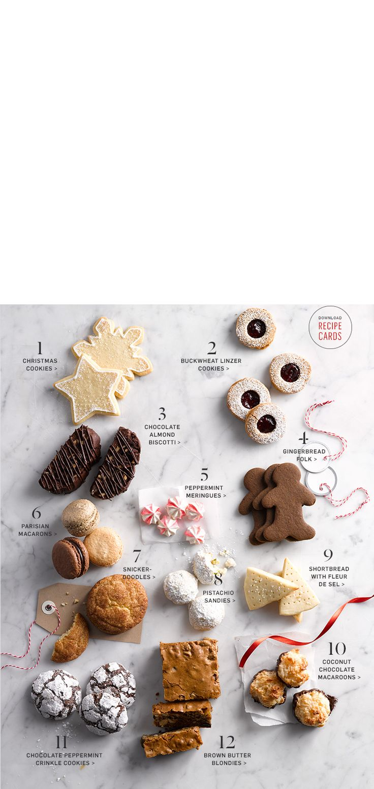 Holiday Cookie Recipes & Holiday Cookie Exchange | Williams-Sonoma