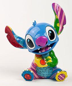 Lilo and Stitch - Stitch Sitting - Britto - Romero Britto - World-Wide-Art.com - $70.00