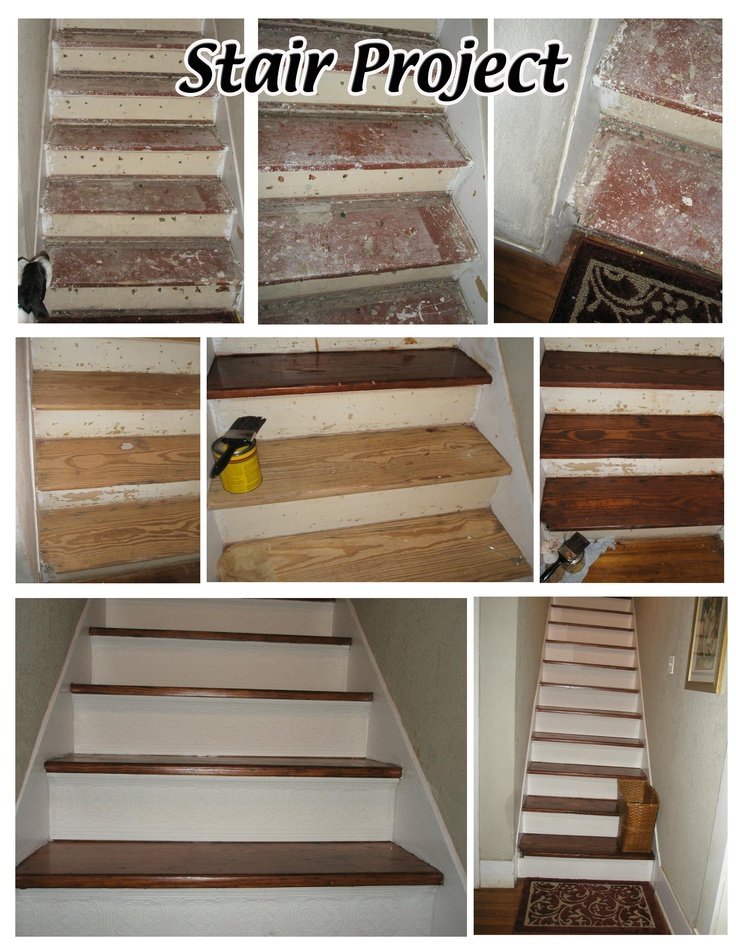My DIY Stair Project-need to refinish our stairs...