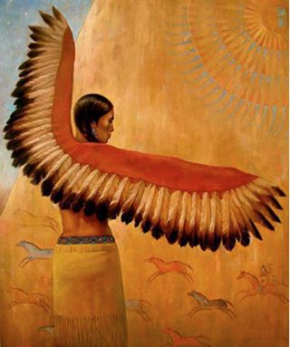 Once upon a time, When women were birds, There was the simple understanding That to sing at dawn And to sing at dusk Was to heal the world through joy. The birds still remember what we have forgotten, That the world is meant to be celebrated. ~ Terry Tempest Williams Art © David Joaquin Rivers in the Ocean