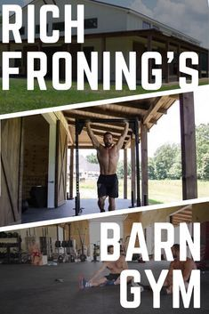 Rich Froning's Barn Gym is INSANE!