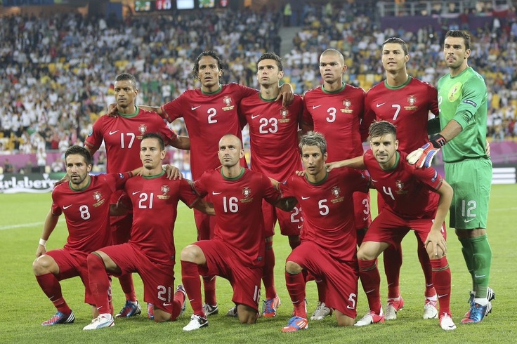 Portugal soccer team -  Europ Cup 2012