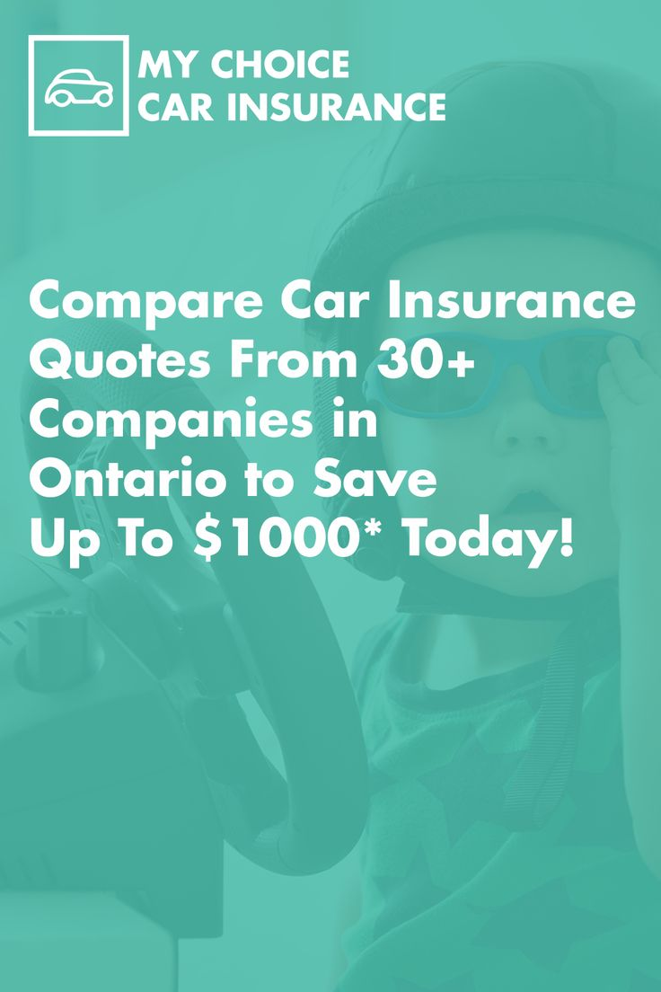 Compare car insurance quotes in ontario today to save up