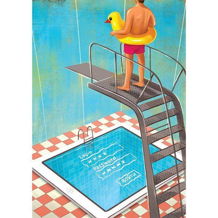 Безопасность прежде всего. Дмитрий Коротченко по заказу Kaspersky  #illustration #bangbangstudio #wowillustration #artist #topcreator #arte #russianillustrator #print #artglobal #artofdrawing #иллюстрация #artoftheday #рисунок #иллюстрация #instaartist by bangbangstudio