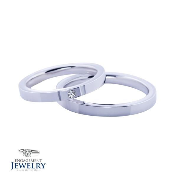Set verighete cu Diamant UNR-VEG-009