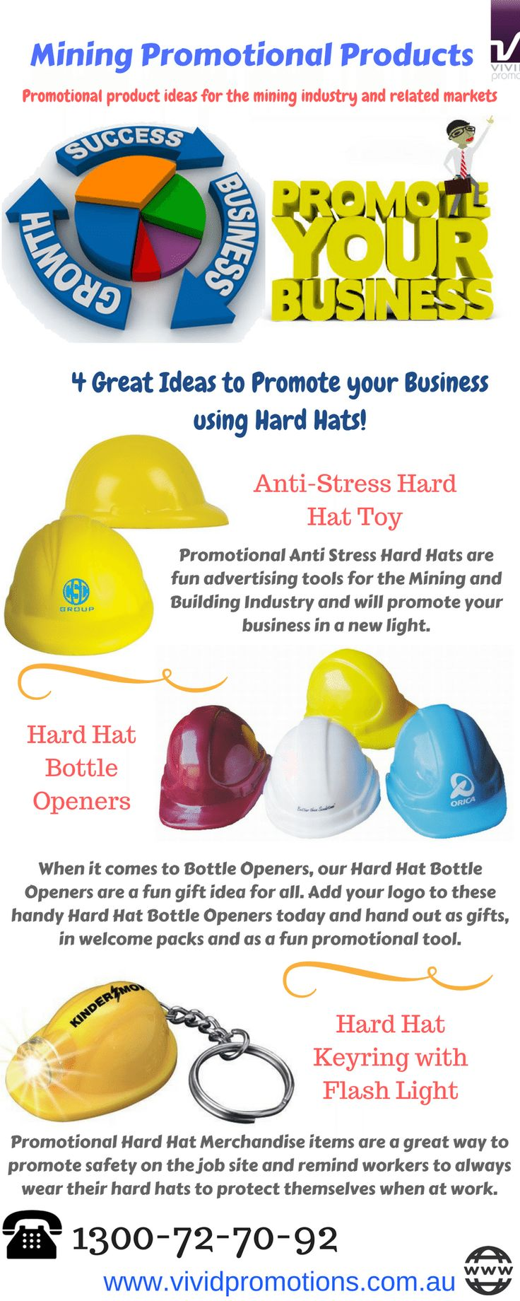 Searching for a great ideas to promote your business? Promote your brand with the custom printed Mining Promotional Products available at Vivid Promotions Australia. When it comes to the mining industry, Vivid Promotions has some fun and novelty promotional products to get your message out.