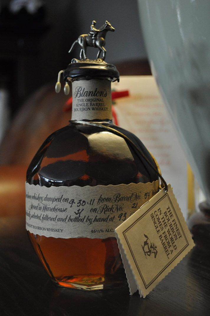 Blanton's Original Single Barrel Bourbon Blanton's Original Single Barrel Bourbon ages in tin-clad Warehouse H through the hot Summer months. It continues to age 'hot' through the Winter thanks to a...