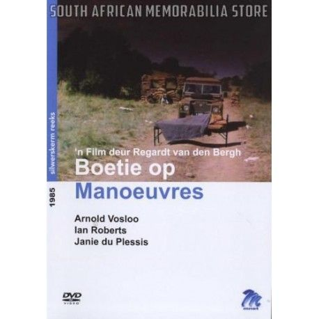 Boetie Op Manoeuvres - Arnold Vosloo South African DVD *New* MNETDVD286 - South African Memorabilia Store