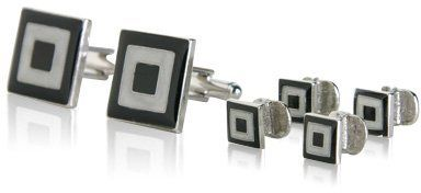 Unique Enamel Formal Set by Cuff-Daddy Cuff-Daddy. $44.99. Proudly MADE IN THE USA. Made by Cuff-Daddy. Arrives in hard-sided, presentation box suitable for gifting.