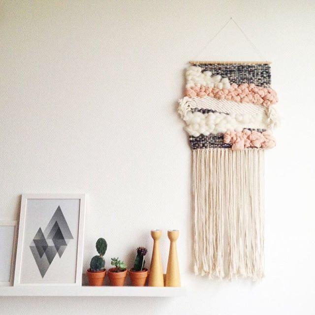 @mydearpaper wallhanging, weaving, custom, tissage, julie robert