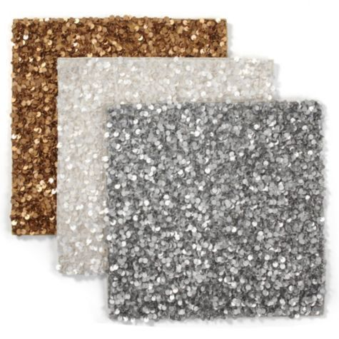 fun for a playful dinner party! Sequined Placemat - Set of 4 from Z Gallerie #secretlyfancy