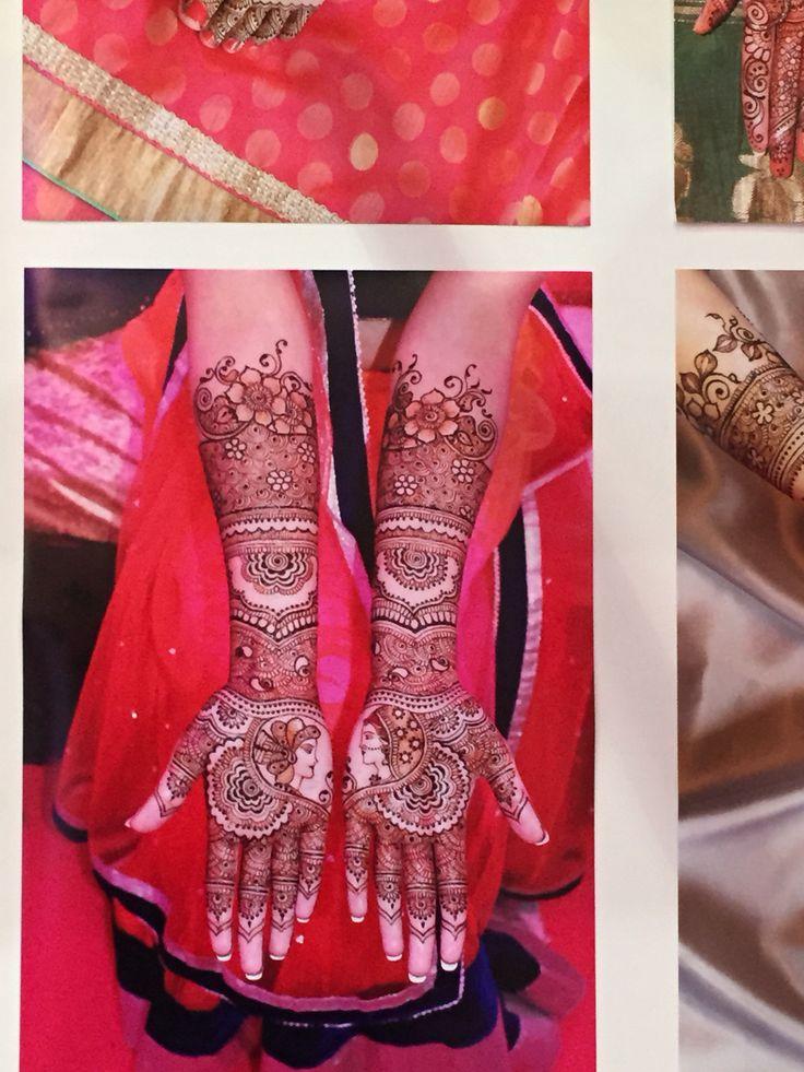 Mehndi artist at Asian Bride Live.