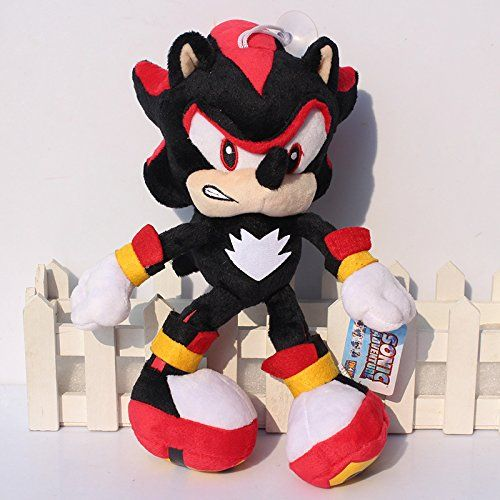 Black Shadow the Hedgehog Plush Toys (29 Cm) Sonic The Hedgehog Plush Doll Soft Stuffed Plush Toy @ niftywarehouse.com #NiftyWarehouse #Sonic #SonicTheHedgehog #Sega #VideoGames #Gaming