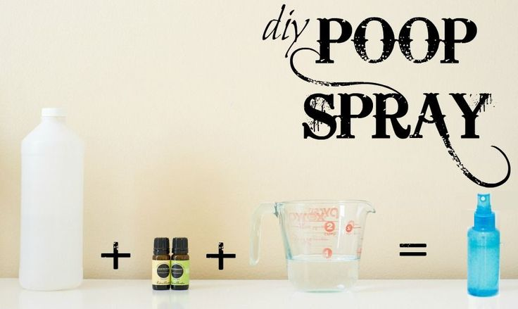 Make your own Poop Spray for crazy cheap! Blocks all the stinky smells in the toilet and leaves the bathroom smelling divine!
