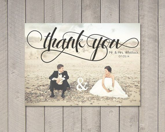 Best 25 Wedding thank you cards ideas – Thank You Cards Wedding