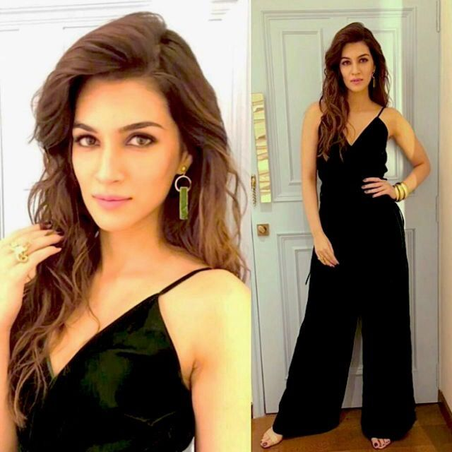 Kriti Sanon in black dress