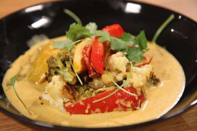 En kryddstark curry blir en härlig middag! Servera gärna med ris eller bröd.