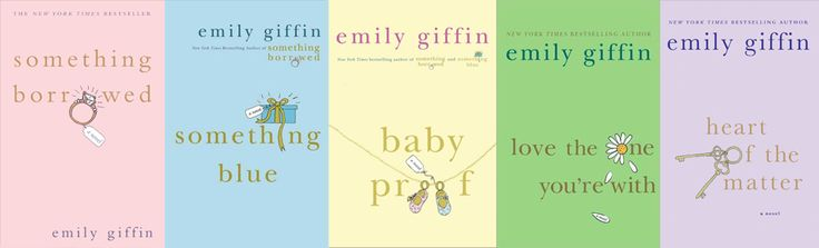 Emily Giffin is such a wonderful author, I love all her books!