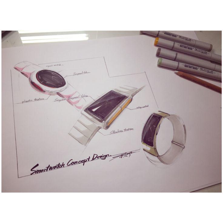 Smart watch concepts design