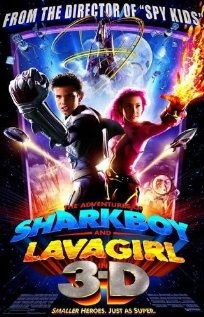 The Adventures of Sharkboy and Lava Girl.  My 2 year old is obsessed with this movie!!