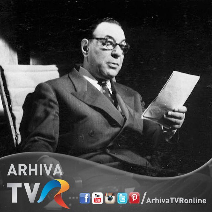 1961 - Ion Fintesteanu, emisiunea Caragiale