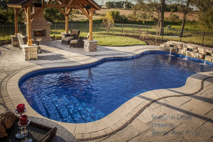 Seasonal Deal Presents Barrier Reef Pools Canada | Fiberglass Pools |  Pinterest | Swimming Pools, Fiberglass Pools And Hot Tubs