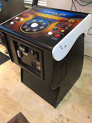 2017 Golden Tee Golf Live Arcade Game With Monitor Stand (floor demo, revised)