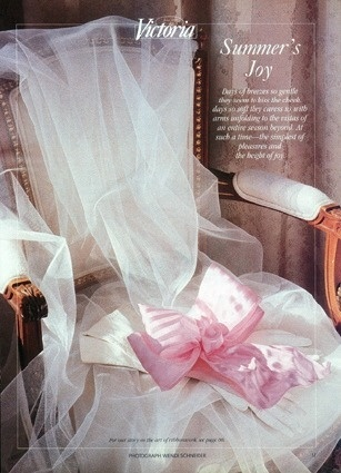 Chair with Tulle  ~  would be a pretty chair for Baby Shower for Mom to Be