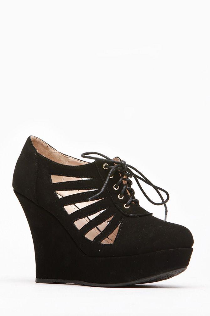 Best 25 Black Wedge Shoes Ideas On Pinterest Lace Up