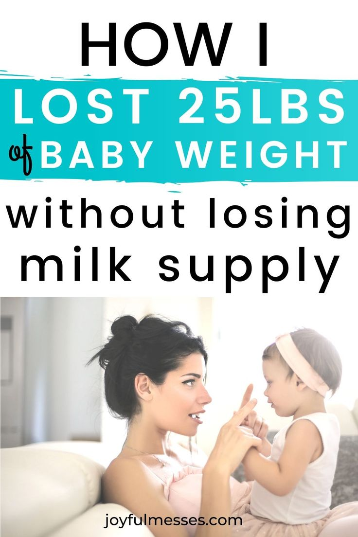 How i lost the baby weight fast 25 lbs without losing