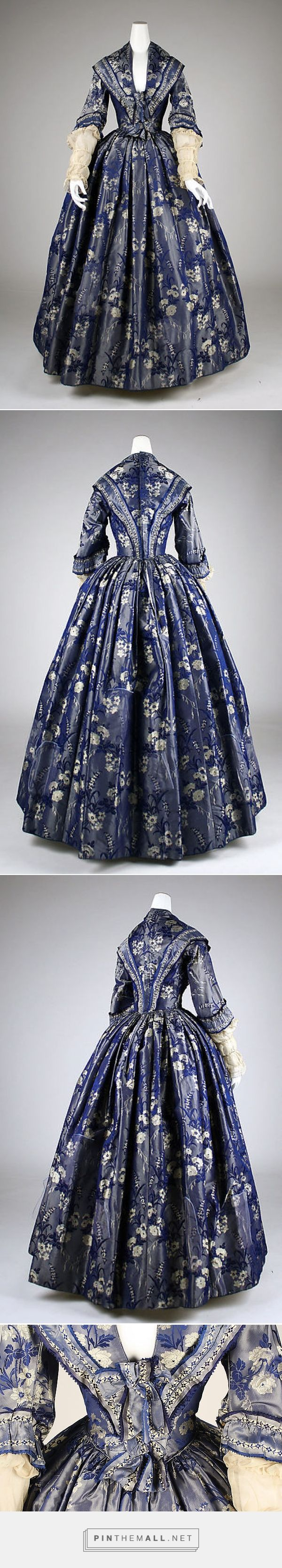 Dress ca. 1842 British | The Metropolitan Museum of Art