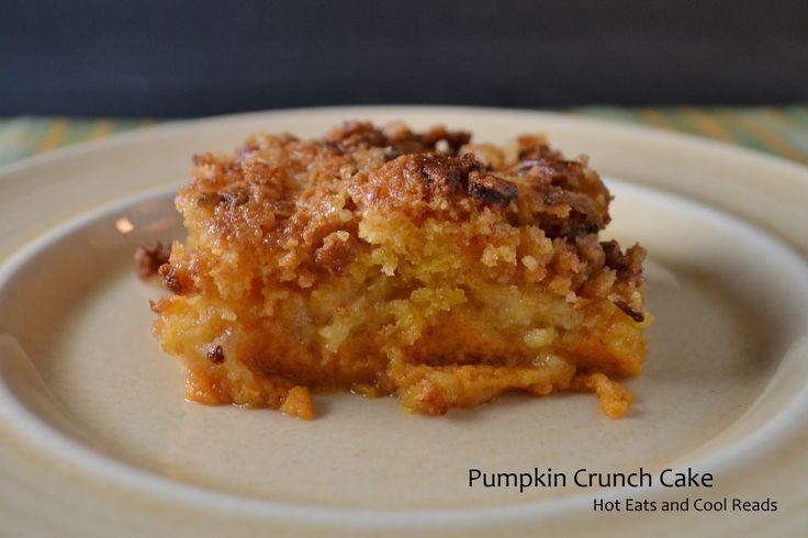pumpkin crunch cake recipe | Hot Eats and Cool Reads: Pumpkin Crunch Cake Recipe