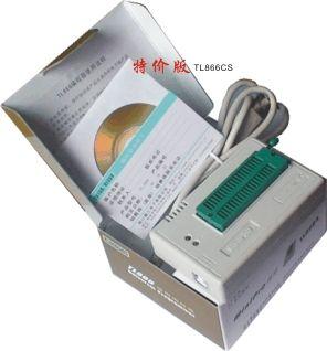 Высокая производительн, TL866CS Программист / Writer ---- продукта Информация для заказа Специальный выпуск TL866CS программист / горелка Цена: 258.00 юаней / Тайвань  Список упаковки : хозяин программист, стандарт USB2.0 кабель, CD-ROM продукты,           гарантия на изделие карту.  <TL866CS и TL866A Разница: TL866CS ограничения функций интерфейса ICSP>  функции интерфейса ICSP только на микроконтроллере, AT45DBxxx, независимо от других моделей