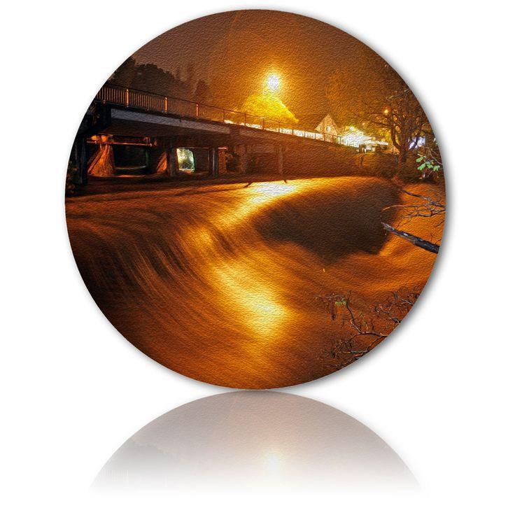 LIGHT PLAYS ITS SONG ON THE MAHURANGI RIVER - A Warkworth story - Ian Anderson Fine Art . http://ianandersonfineart.com/blog/