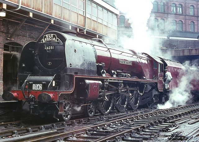 No.46251 'City of Nottingham'. Birmingham (New Street). 12 July 1964