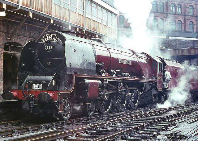 No.46251 'City of Nottingham'. Birmingham (New Street). 12 July 1964