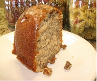 Southern Praline Pecan Cake - very moist and delicious.