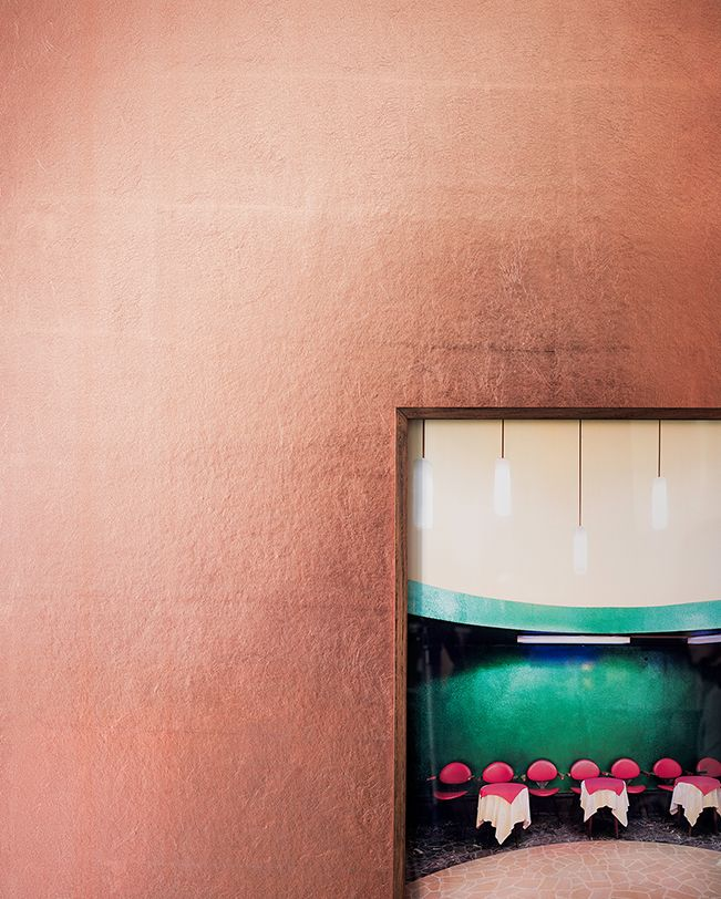 metallic wallpaper, MT014