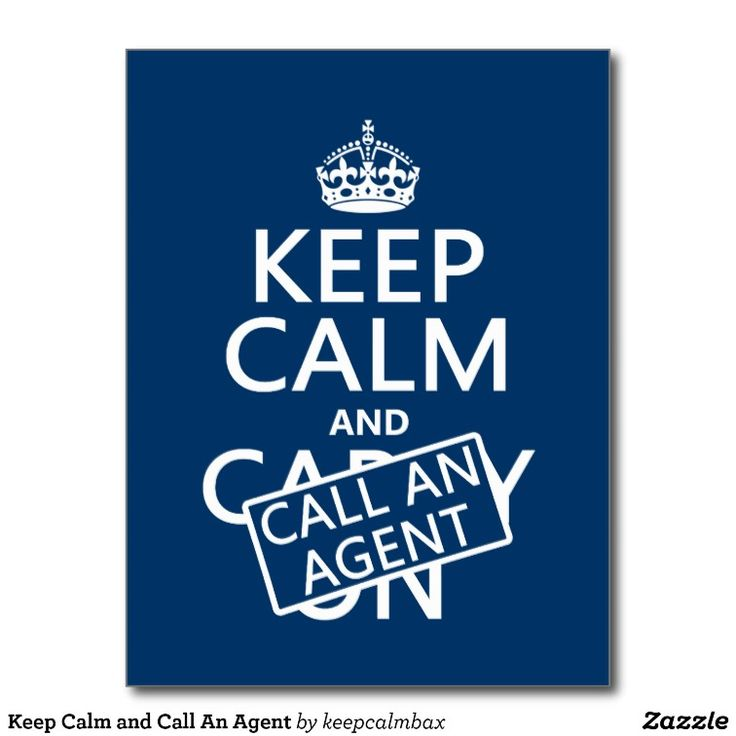 Keep Calm and Call an An Agent!  #RealEstateHumor #NorthCarolina