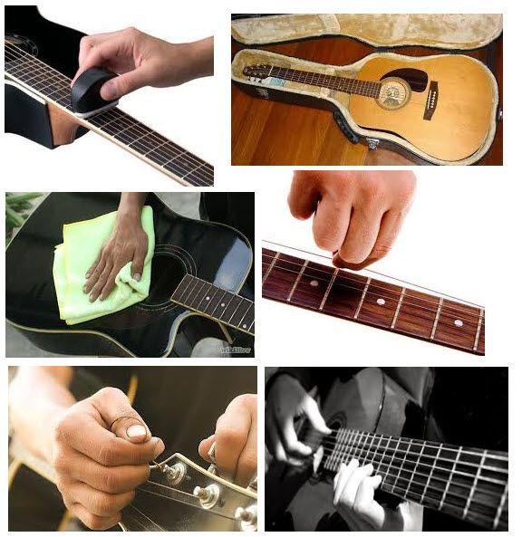 7 Tips Penting Merawat dan Menjaga Kualitas Gitar Akustik