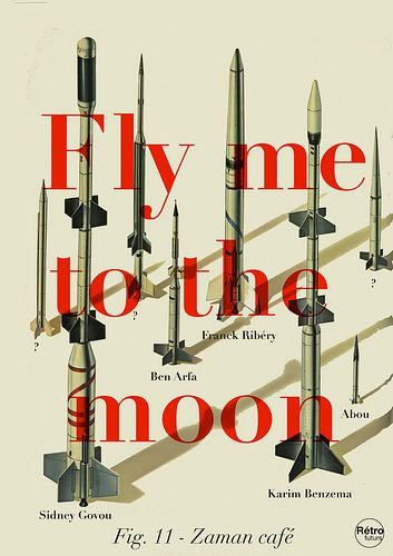 fly me to the moon retro - Google Search