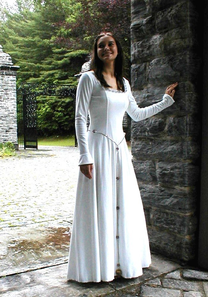 Wouldn t go for the sleeves but the flattened front and the cord at the  waist are lovely    Fashion Ideas   Pinterest   Celtic wedding  Wedding  dress and  Wouldn t go for the sleeves but the flattened front and the cord  . Plus Size Celtic Wedding Dresses. Home Design Ideas