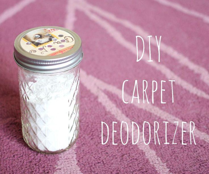 Desodorante de alfombras.